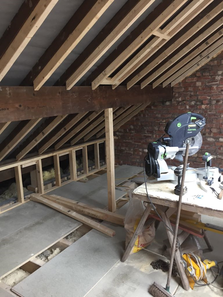 Loft conversion cheadle hulme update stockport for Loft floor construction