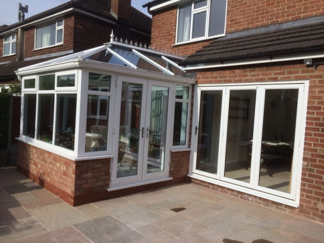 Conservatory installed by Stockport Construction Ltd