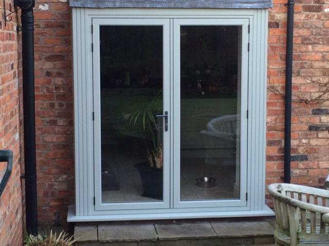 External Doors installed by Stockport Construction Ltd