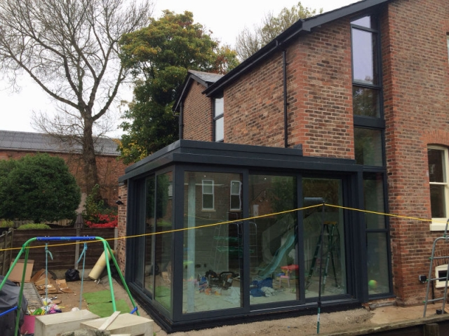 Patio Doors installed by Stockport Construction Ltd